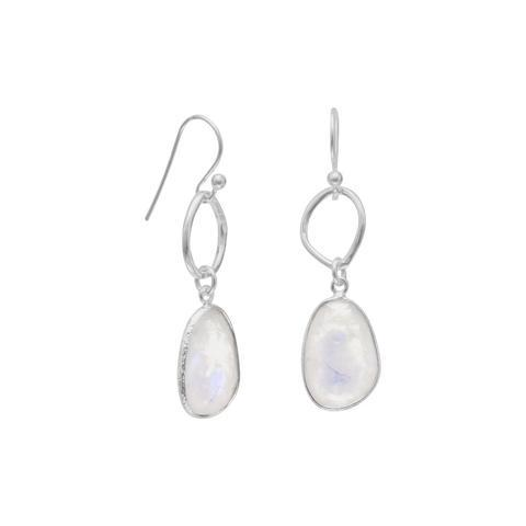 Rainbow Moonstone Earrings from Miles Beamon Jewelry - Miles Beamon Jewelry