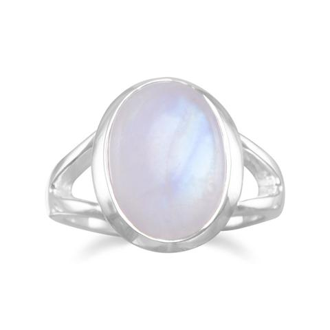 Rainbow Moonstone Ring from Miles Beamon Jewelry - Miles Beamon Jewelry