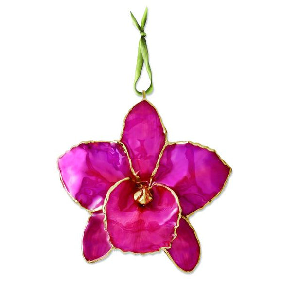 Fuchsia Cattleya Orchid Ornament from Miles Beamon Jewelry - Miles Beamon Jewelry