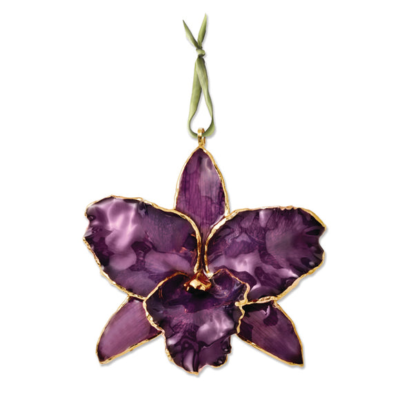 Purple Cattleya Orchid Ornament from Miles Beamon Jewelry - Miles Beamon Jewelry