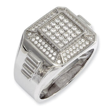 Sterling Silver And Cubic Zirconia Ring from Miles Beamon Jewelry - Miles Beamon Jewelry