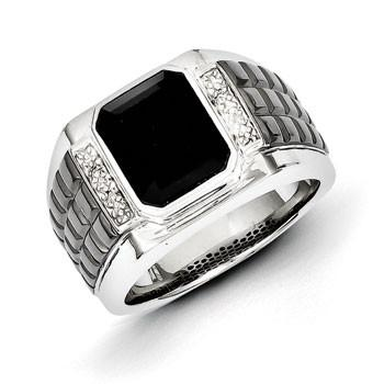 Sterling Silver Onyx Ring from Miles Beamon Jewelry - Miles Beamon Jewelry