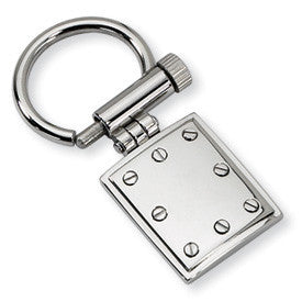 Stainless Steel Key Chain from Miles Beamon Jewelry - Miles Beamon Jewelry