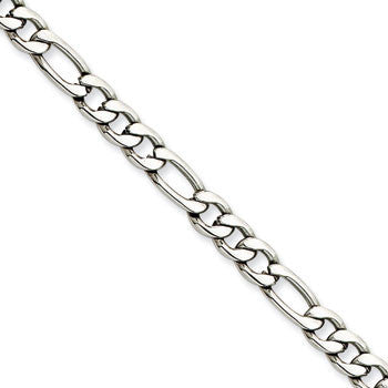 Stainless Steel Figaro Chain from Miles Beamon Jewelry - Miles Beamon Jewelry