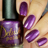 Berry Misbehaved - Delush Polish - 6