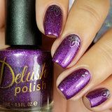 Berry Misbehaved - Delush Polish - 8
