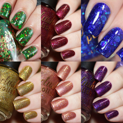 The Winter Takes It All Collection Set of 6 - Delush Polish - 1