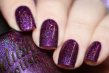 Berry Misbehaved - Delush Polish - 2