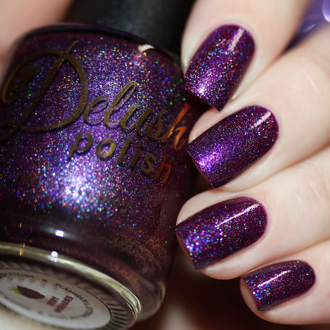 Berry Misbehaved - Delush Polish - 1