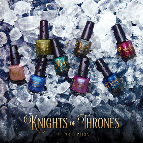 Knights of Thrones Set of 8 - Delush Polish - 1