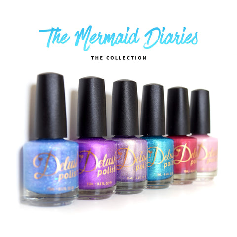 The Mermaid Diaries Collection Set of 6
