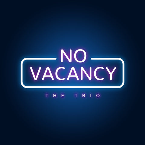 No Vacancy Trio Set of 3