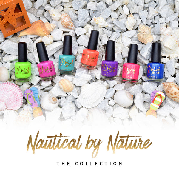 Nautical By Nature Set of 7 - Delush Polish - 1