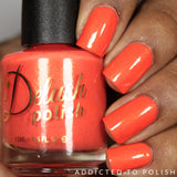 Love it When You Call Me Big Papaya - Delush Polish - 5