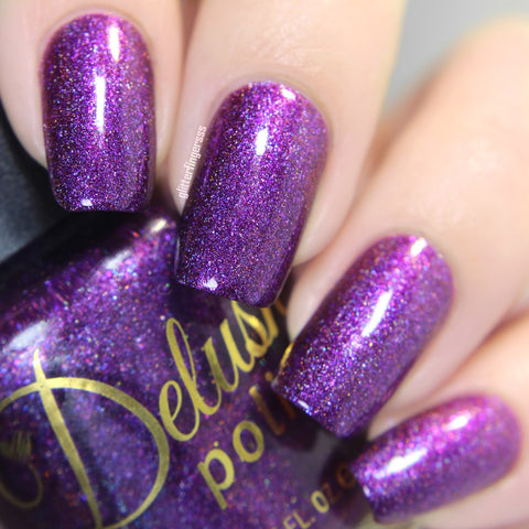 Berry Misbehaved - Delush Polish - 12