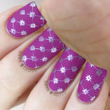 Enchanted - DP01 Nail Stamping Plate - Delush Polish - 7
