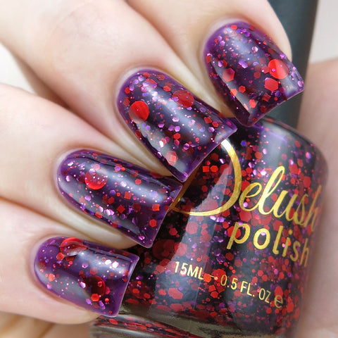 Queen of No Mercy - Delush Polish - 1