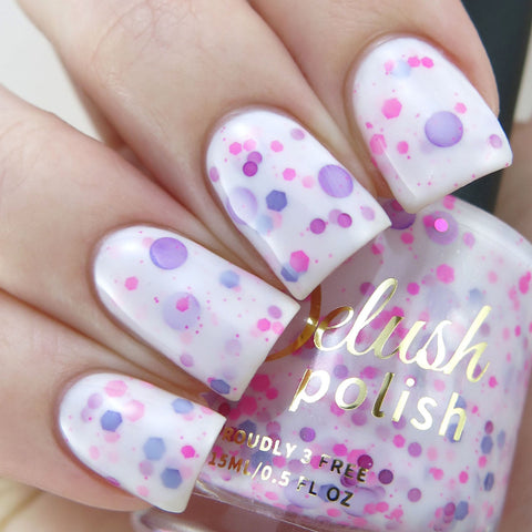 A Peony For Your Thoughts - Delush Polish - 1