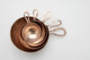 Handmade Copper Measuring cup set of 5