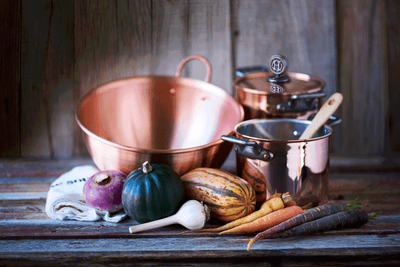 Handmade Copper Mixing Bowl by Sara Dahmen