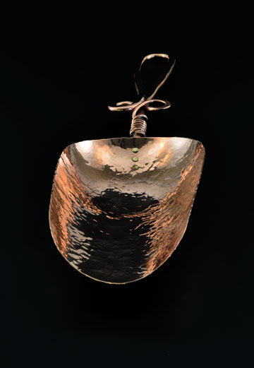 Copper Ice Scoop by Ben Caldwell