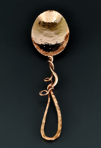 Copper Serving Spoon by Ben Caldwell
