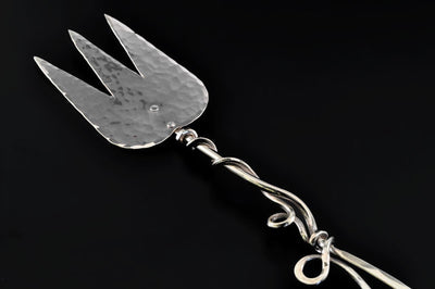 Silver Serving Fork by Ben Caldwell