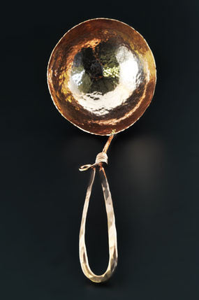 Copper Soup Ladle by Ben Caldwell