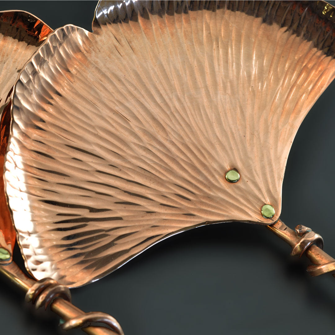Copper Ginkgo Salad Set by Ben Caldwell
