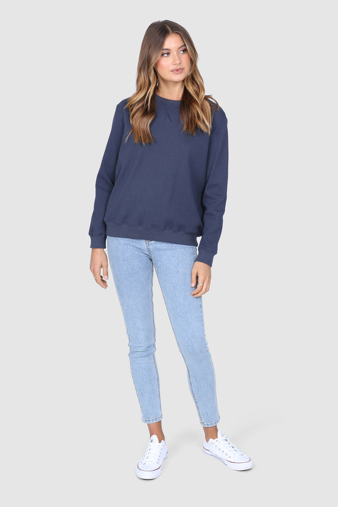 Amber Sweater | Navy