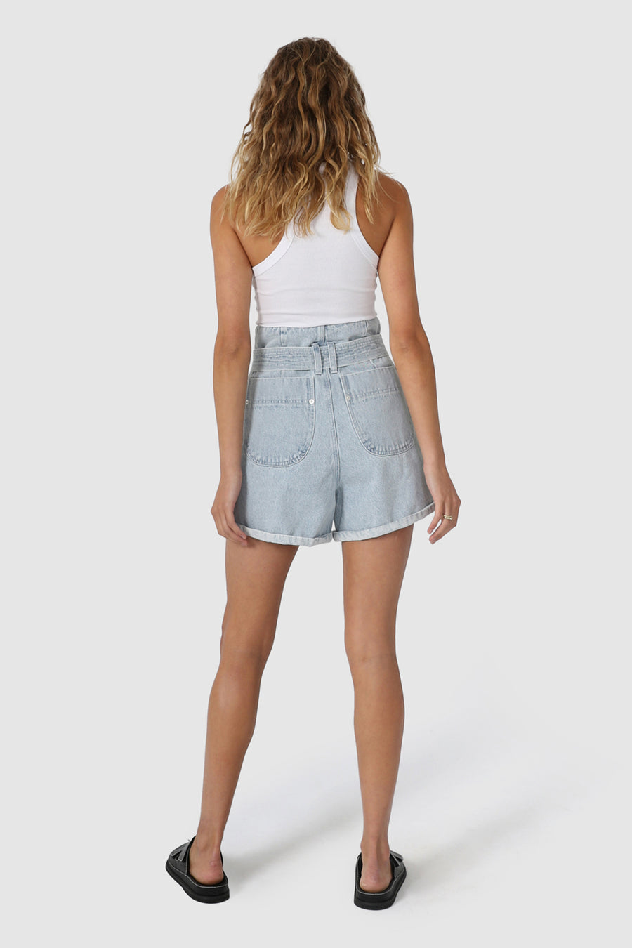 Michelle Shorts | Blue Denim