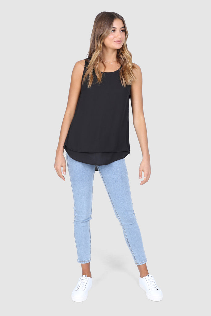McKinna Top | Black