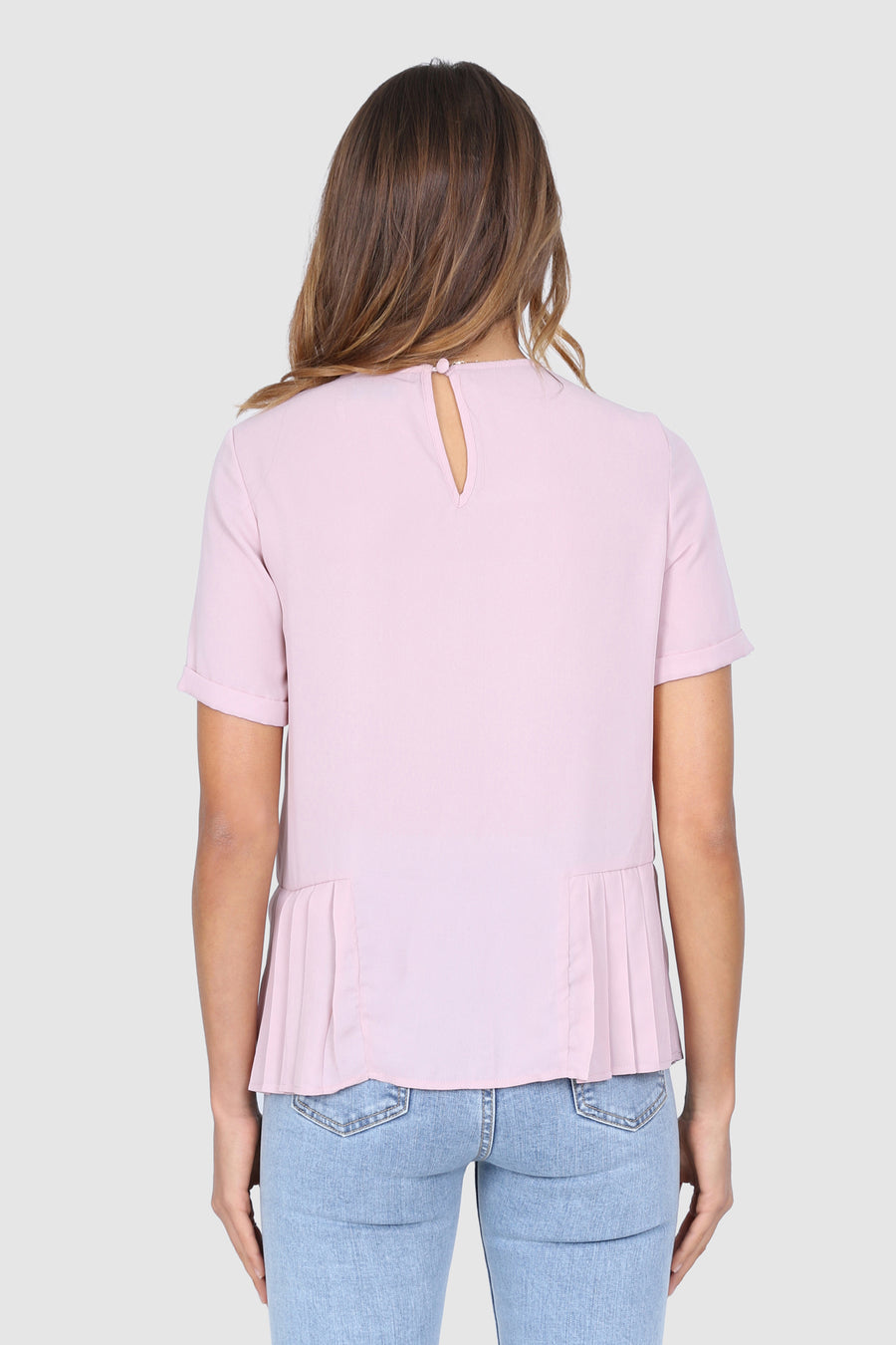Allure Top | Dusty Pink