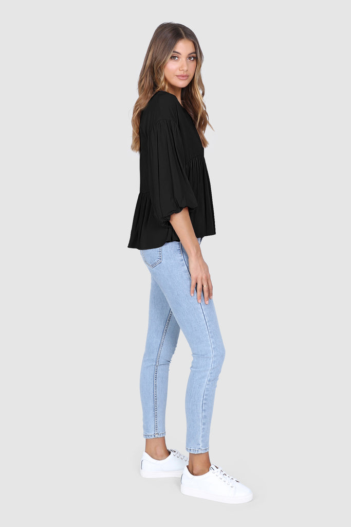 Zuri Top | Black