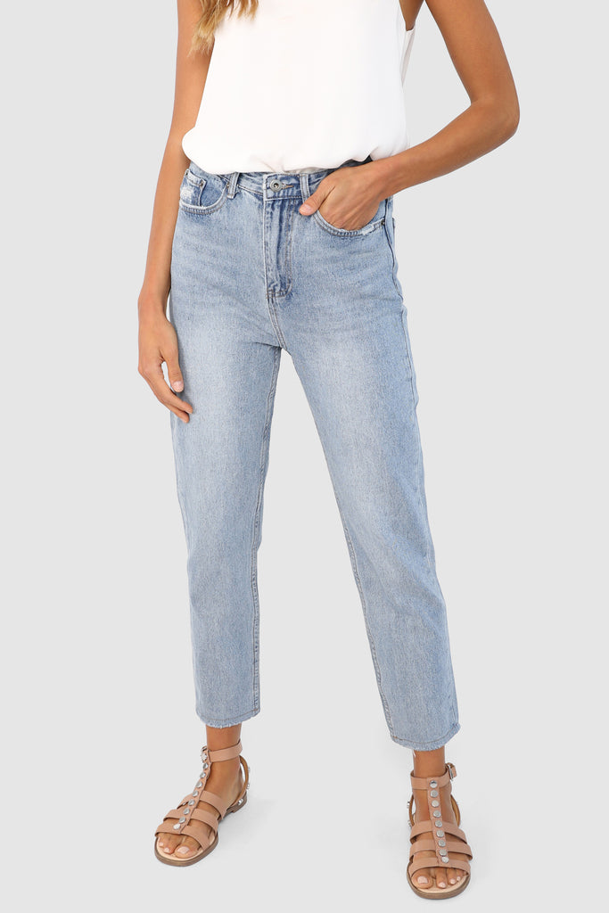 Silvi Mom Jeans | Denim