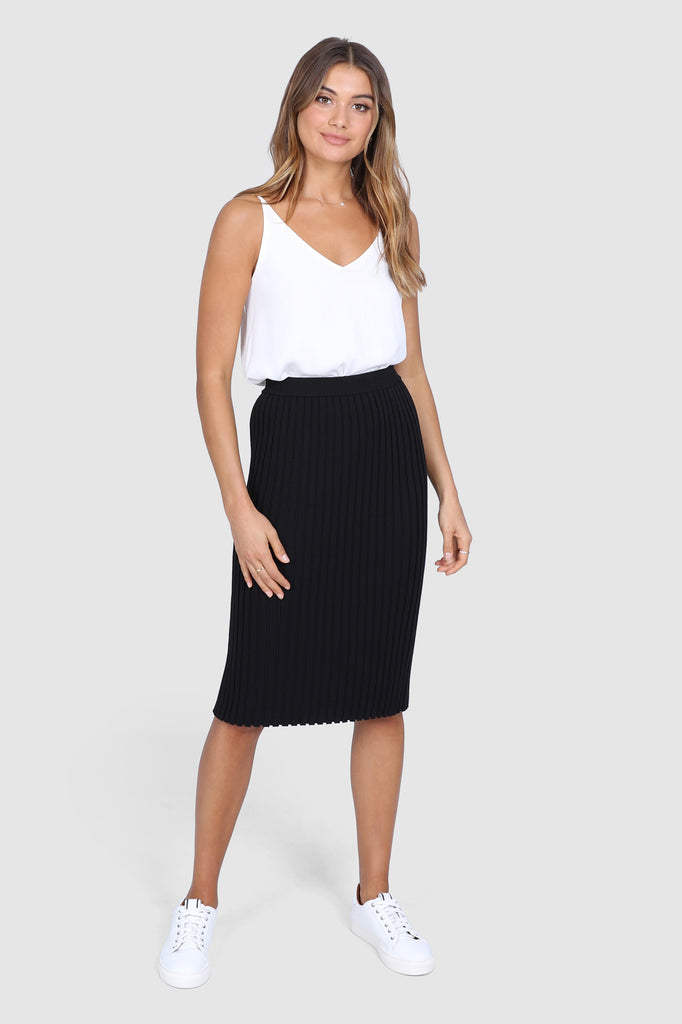 Alessia Skirt | Black