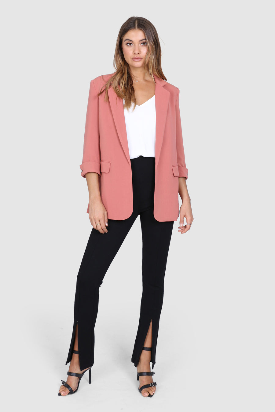Essentials Blazer | Clay
