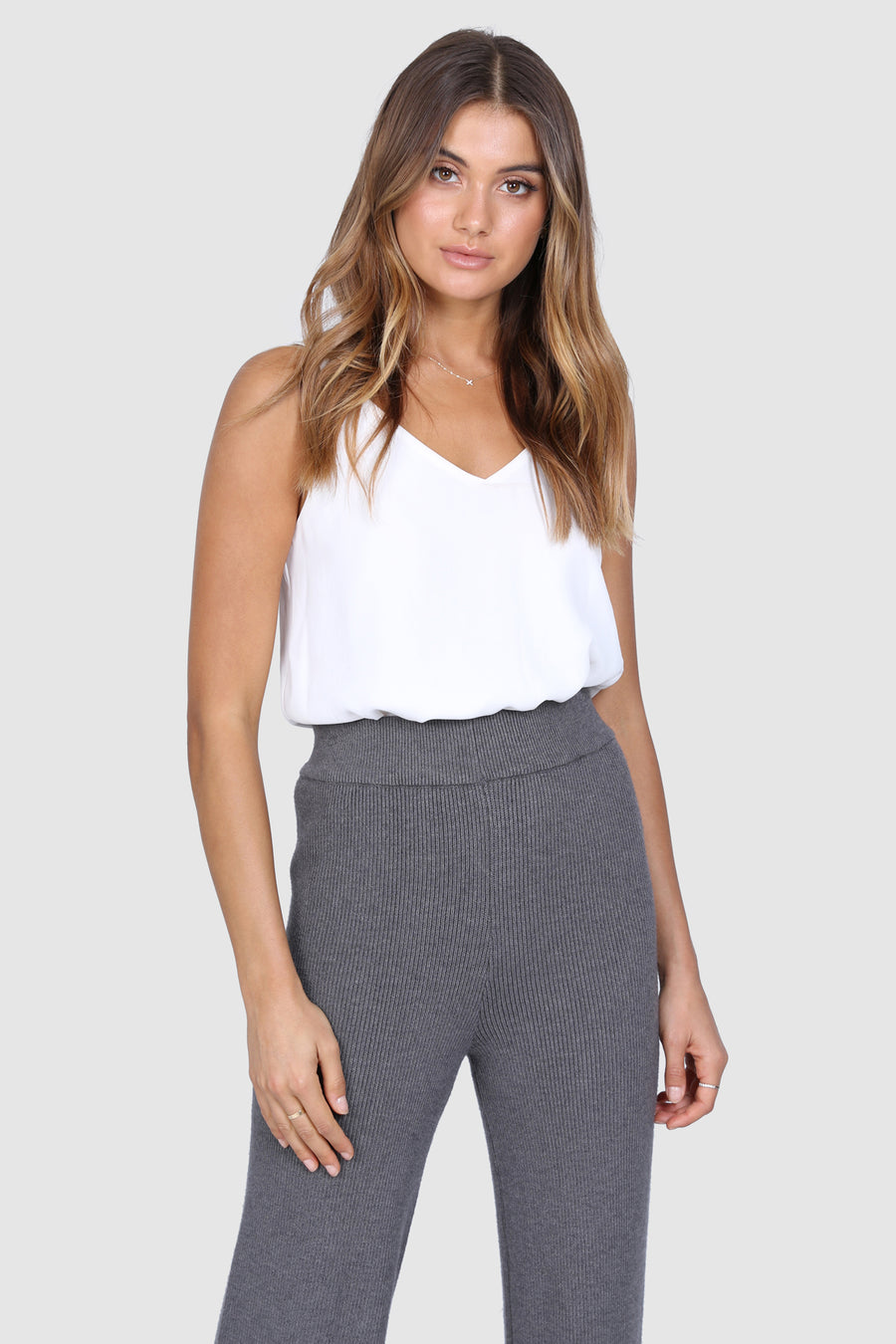 Hadley Knit Pants | Grey