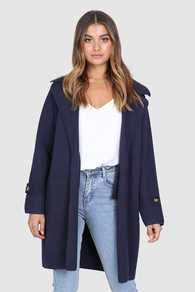 Madelyn Coat | Navy