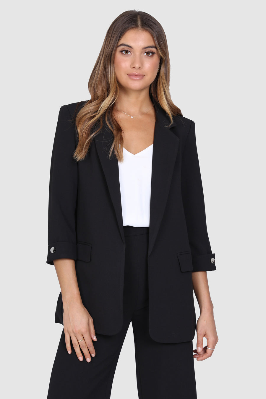 Essentials Blazer | Black