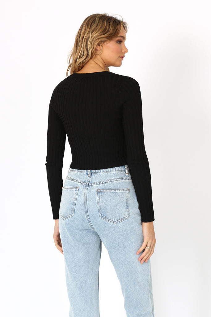 Poppy Knit | Navy