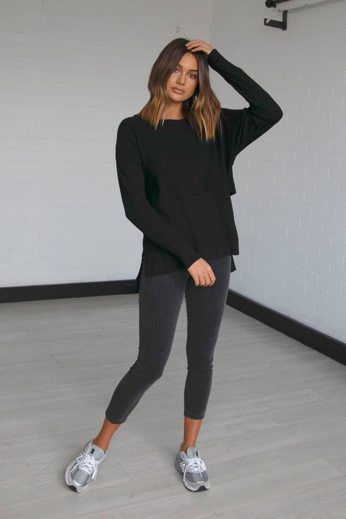 Courtney Knit | Black