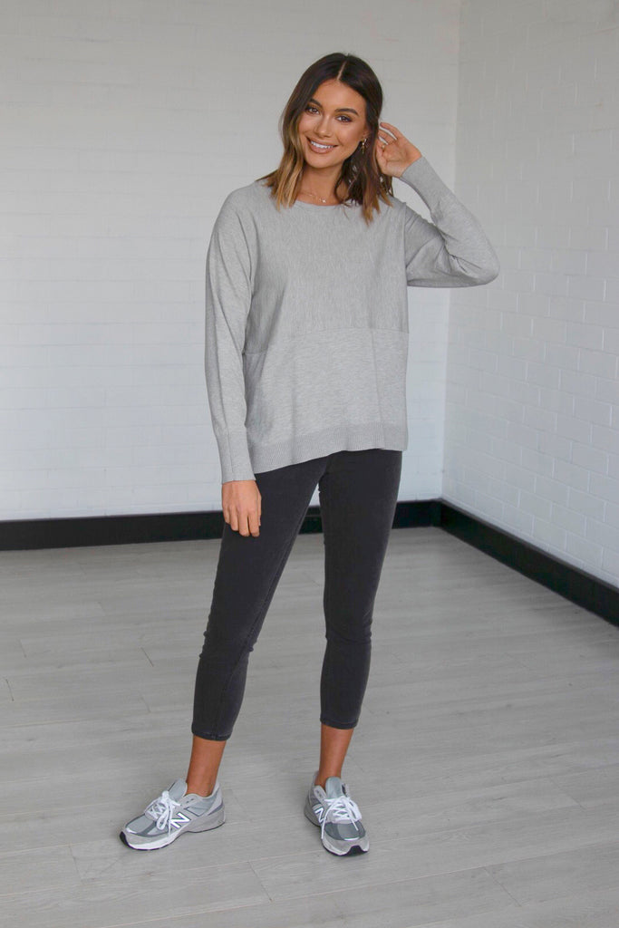Courtney Knit | Grey