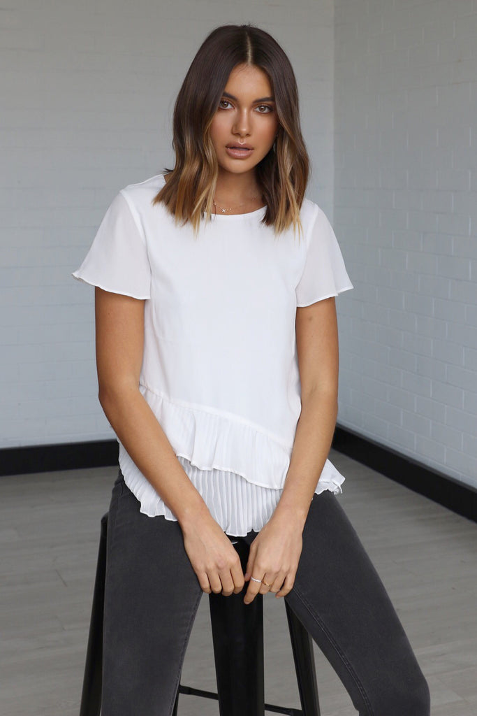 Joslin Top | White