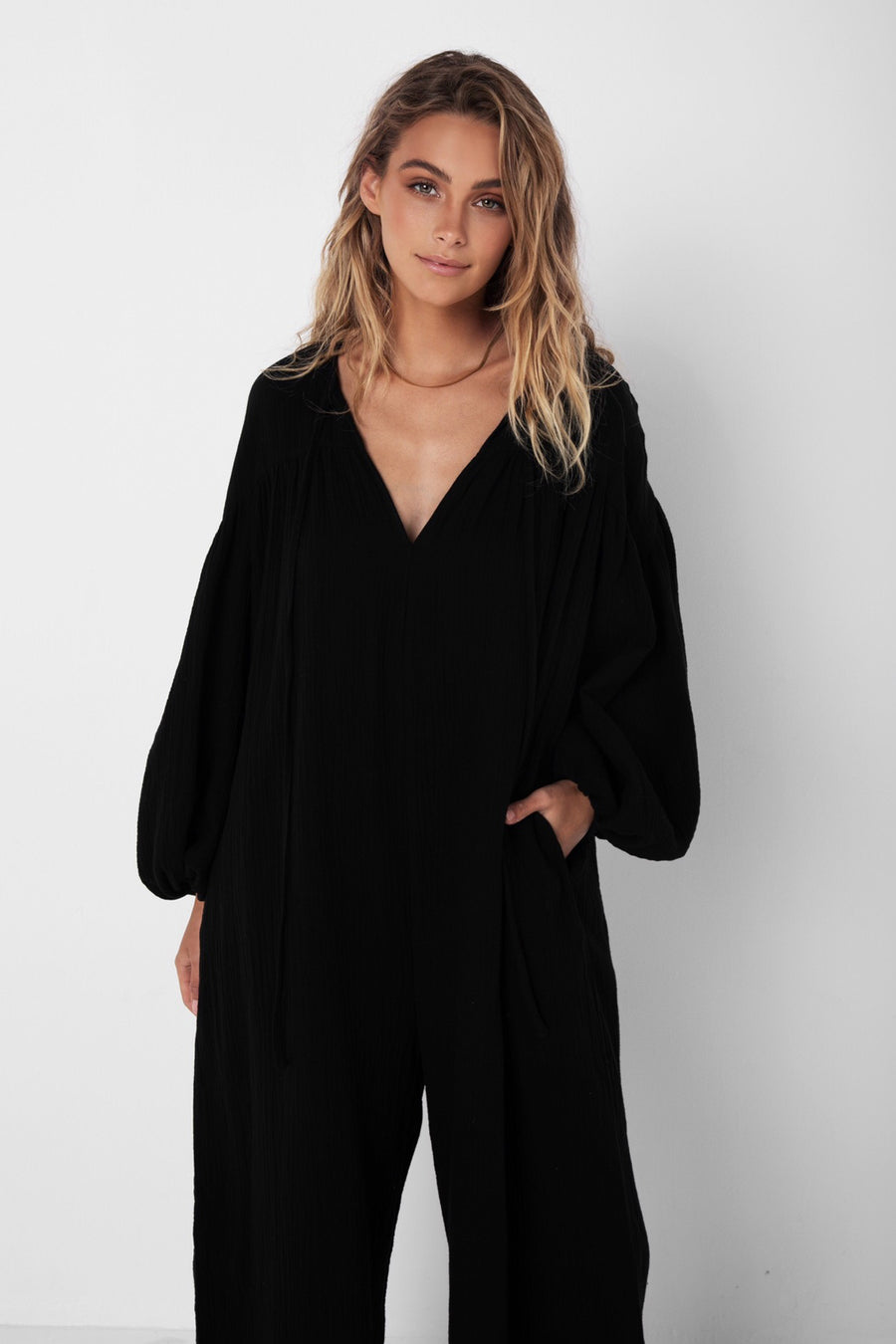 Tilda Jumpsuit | Black