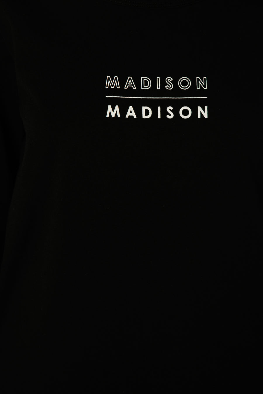 Madison Madison Long Sleeve Top | Black