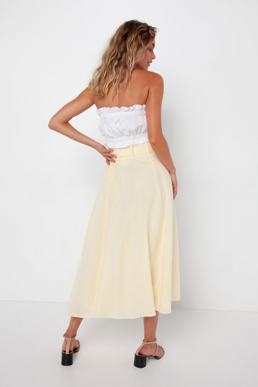 Victoria Skirt | Lemon