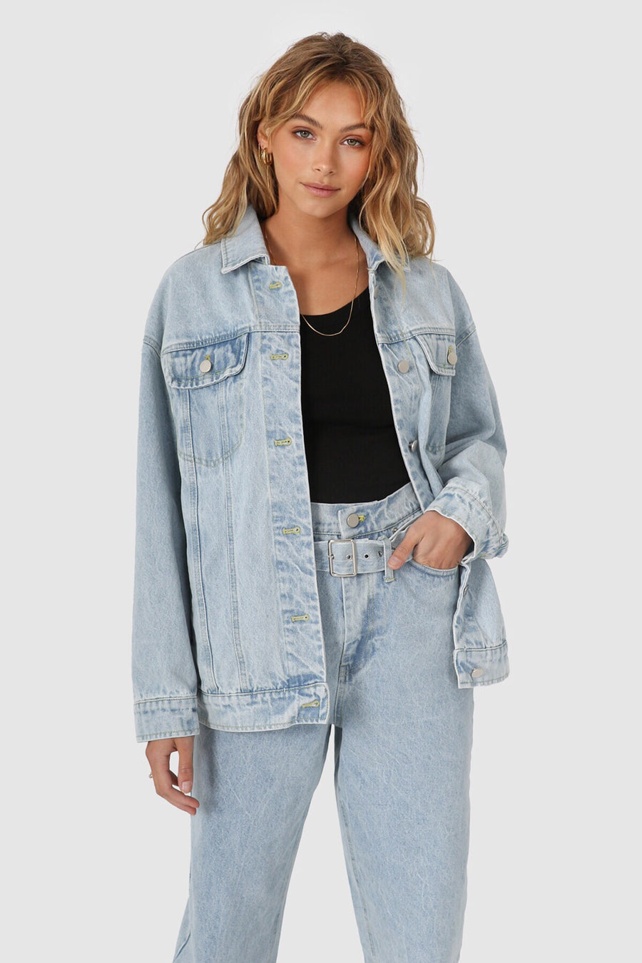Skye Denim Jacket | Blue
