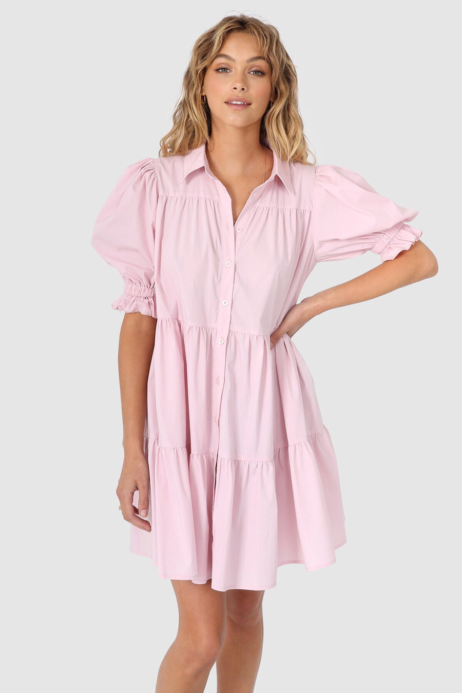 Cecilie Dress | Pink