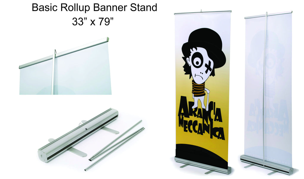 basic rollup banner stand